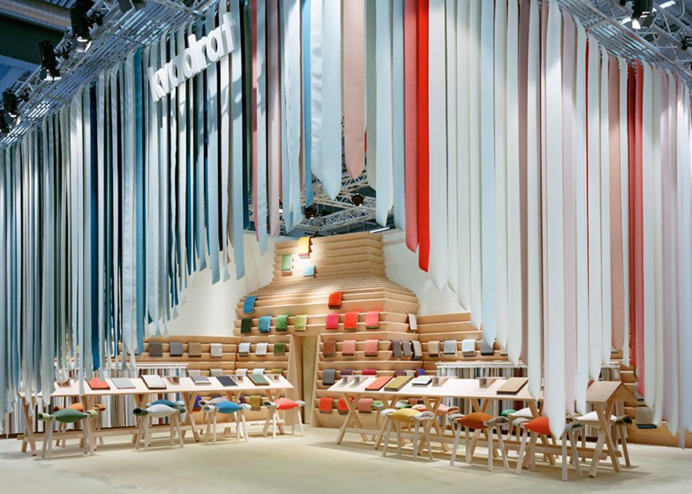 Izgled prostorije sa vertikalnim tepihom