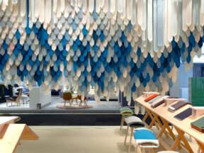 Lepota vertikalnih tepiha od tekstilnih traka