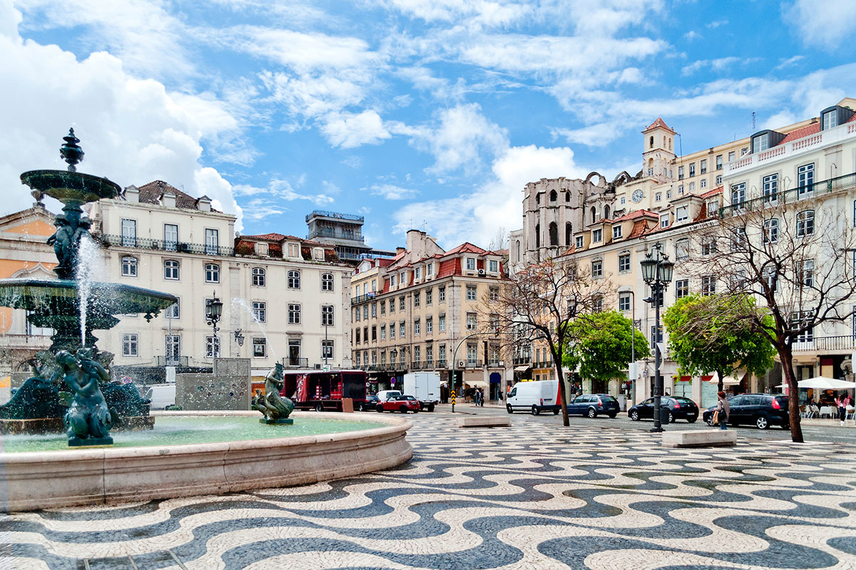 Rosio trg, Lisabon