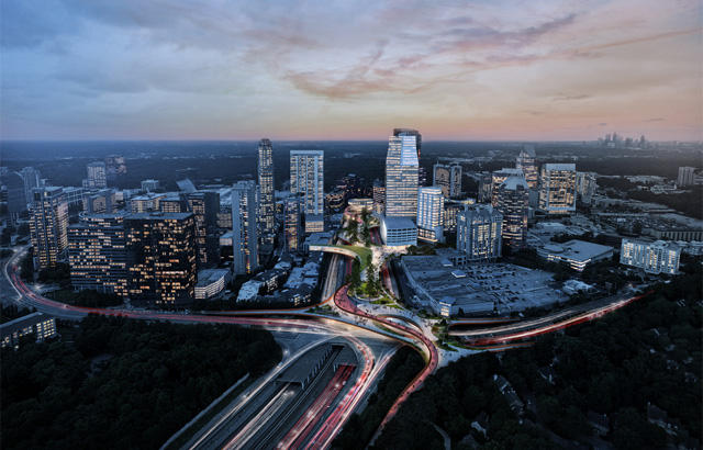 """Idejni projekat za novi park koji """"lebdi"""" iznad delova auto-puta"""