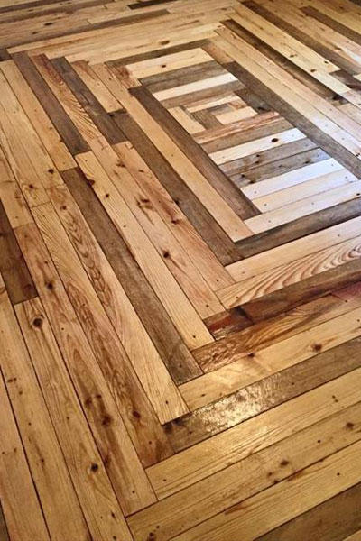 Pod od drvenih paleta