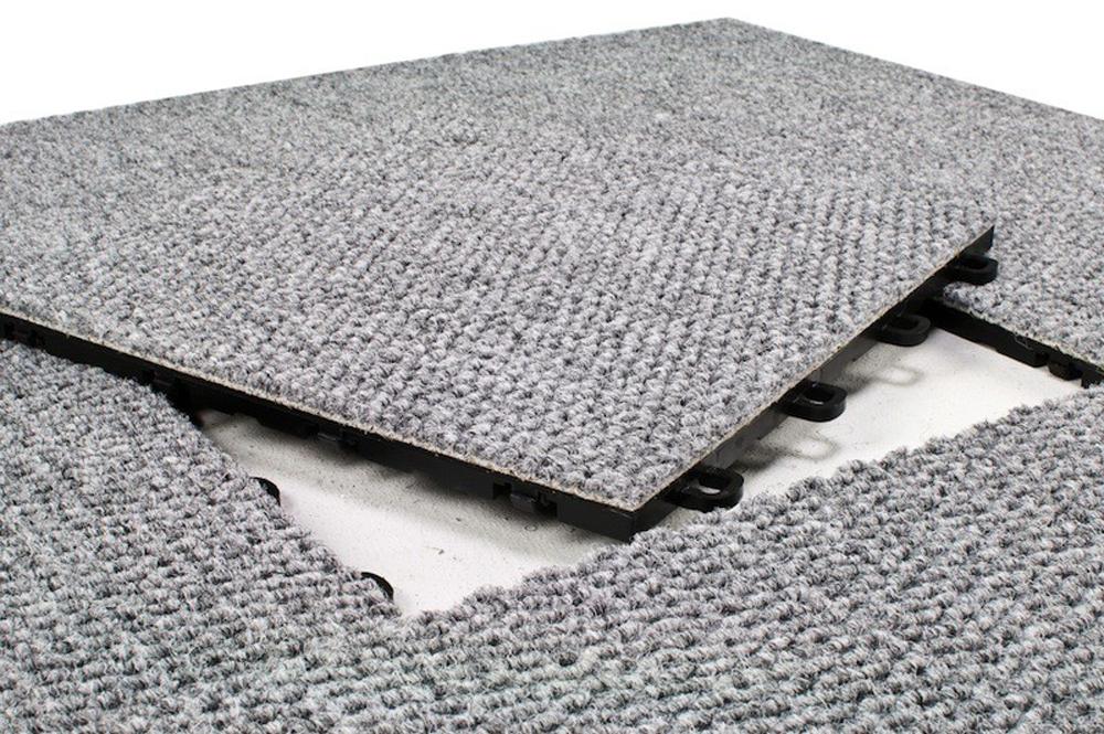 Detalj modularne tepisne pločice
