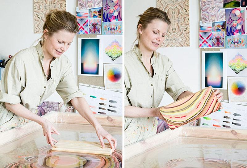 Dizajnerka Pernille Snedker Hansen