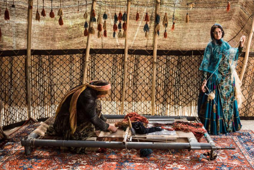 Tkanje tepiha u persiji datira iz bronzanog doba