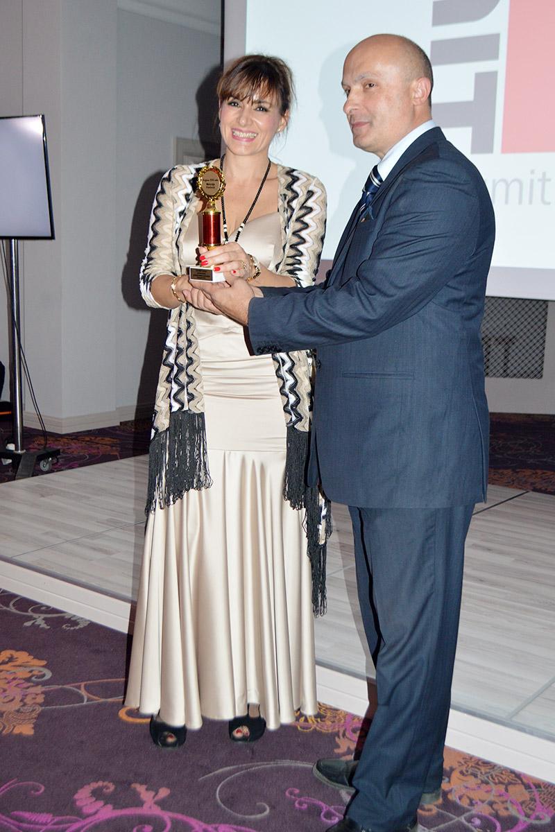 Melanija Pavlović, nagrađena za Najženu 21. veka u oblasti građevinskih materijala