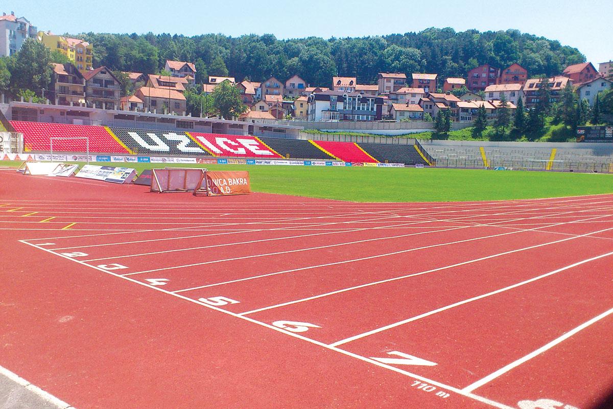 Foto: Pejkom, atletske staze