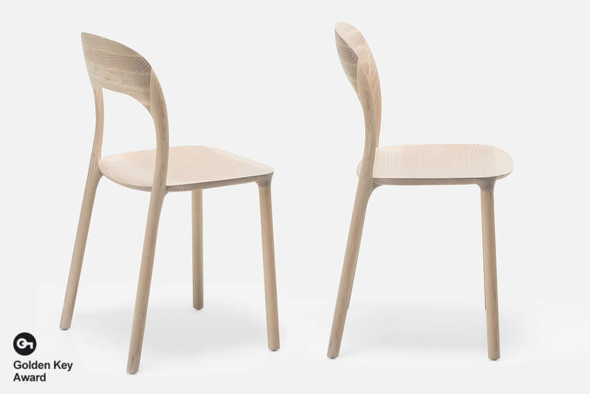 Stolica Elle, dizajn Nataša Perković, MS Wood, BiH
