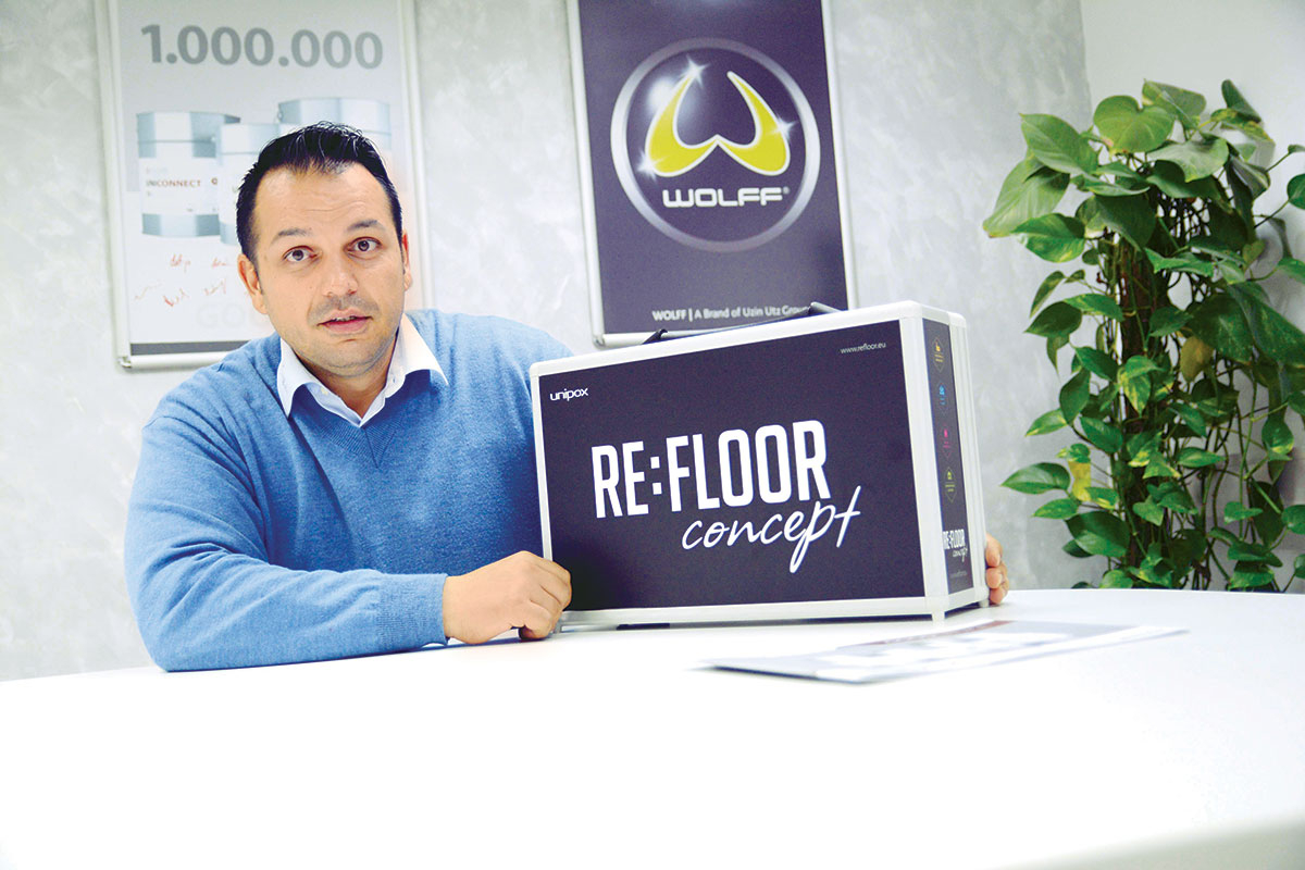 Uwe Miess, Area direktor Uzin Utz AG za region jugoistočne Evrope