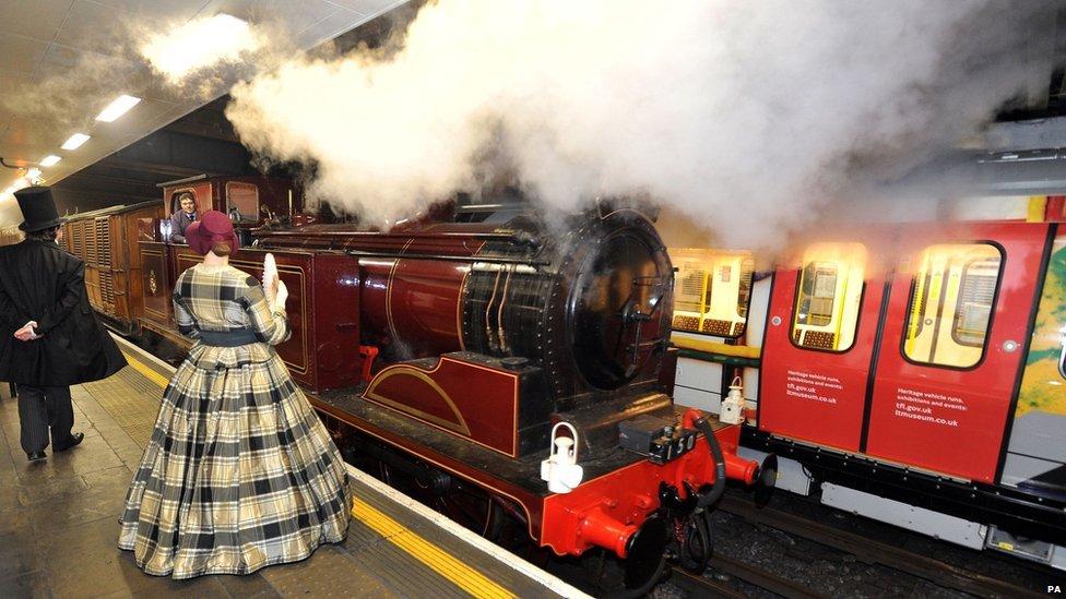 Železnica je rešila pitanje saobraćaja u Londonu u to vreme