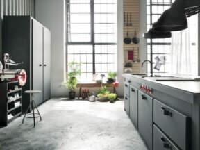 Polirani beton može biti u različitim nijansama i svetline