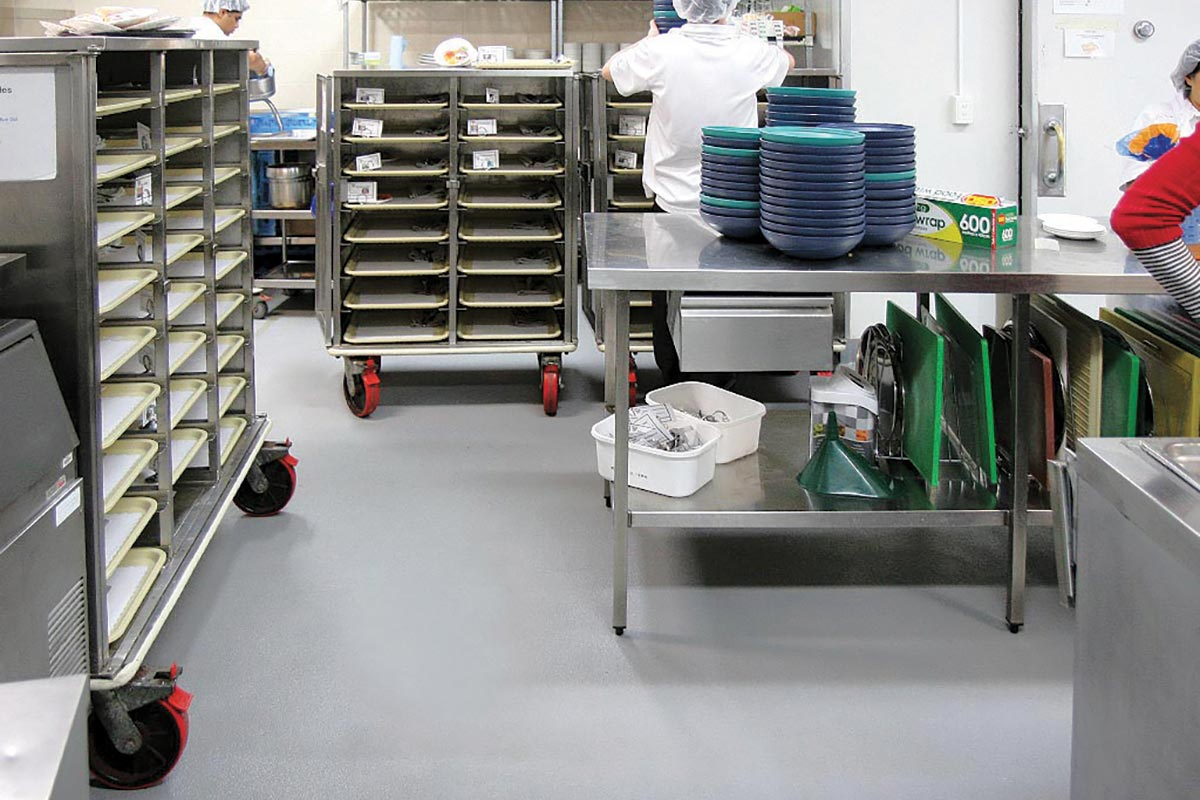 Oblaganje podova u industriji