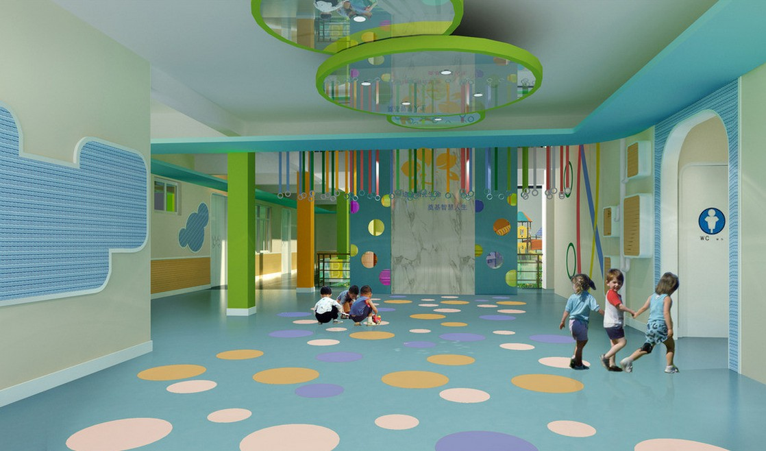 Kreativni podovi u dečijim vrtićima