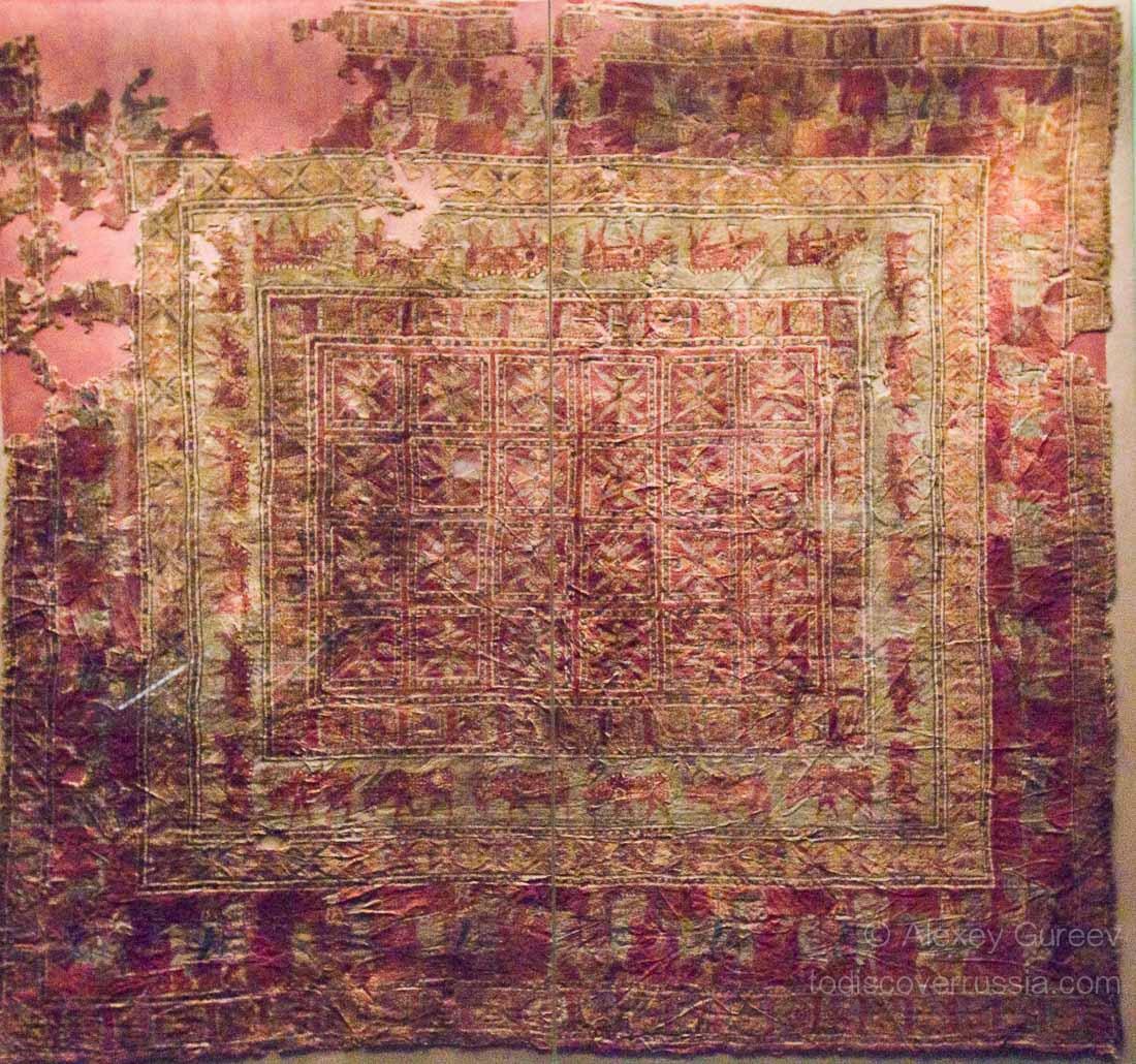 Prvi pronađeni tepih potiče iz V veka pre nove ere
