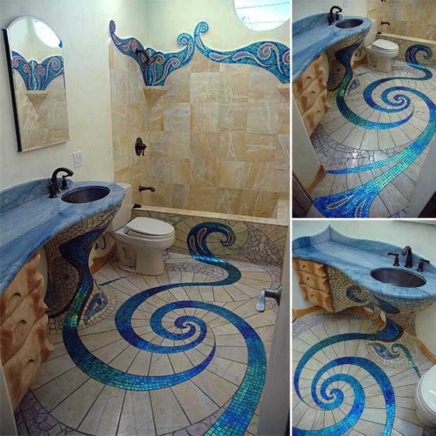 Mozaik dizajn podnih pločica