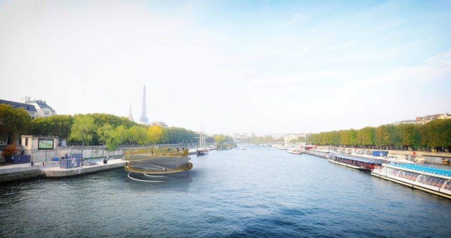 Foto: ANSKA, plutajuće platforme u Parizu