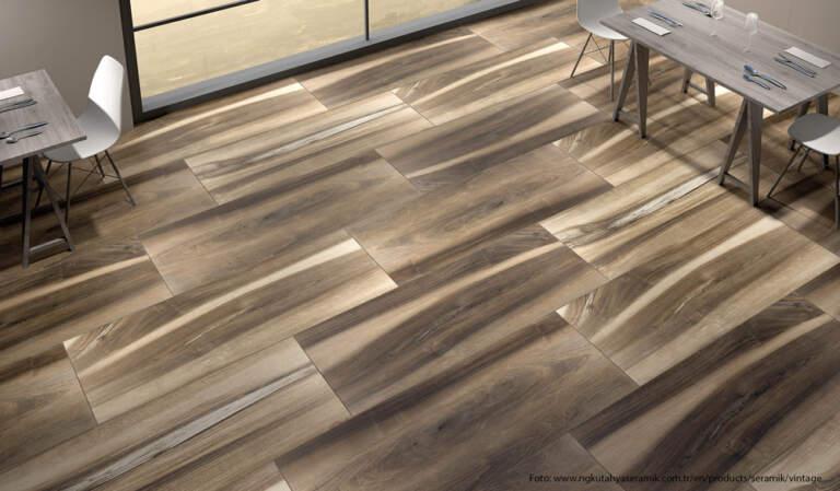 Porcelanski izgled drvenih podova