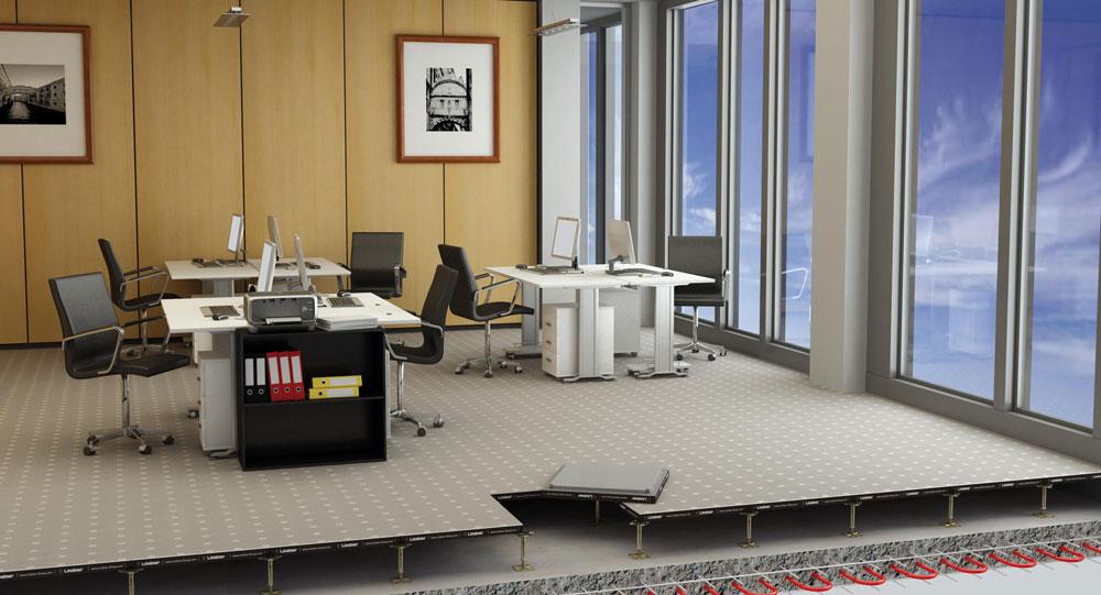 Akustični podovi u poslovnom prostoru