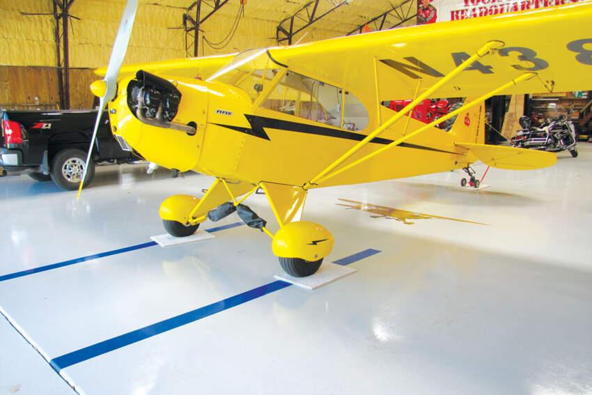 Industrijski podovi za aero hale