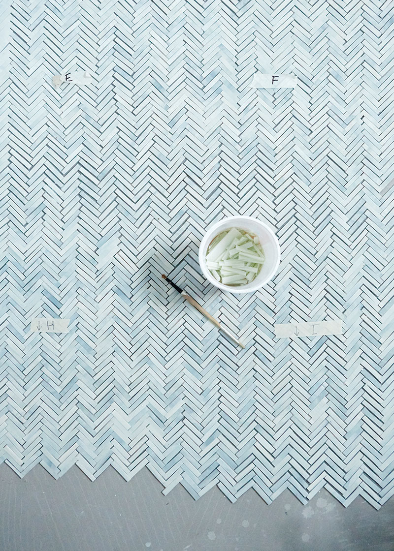 Mosaic floor - Autor: Sarah Myers, Foto: Aya Brackett