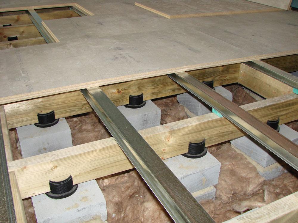 Postavljanje akustičnih podova