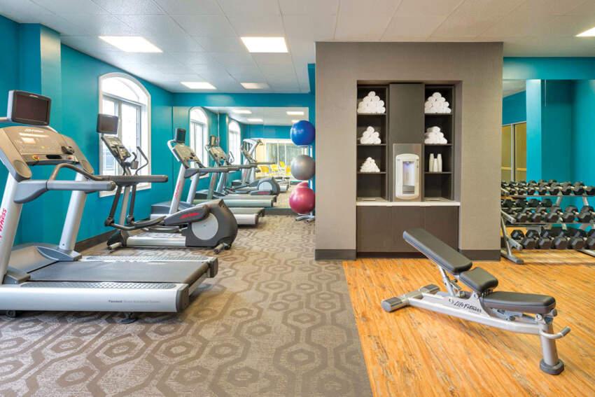 Tekstilni podovi u fitnes centrima