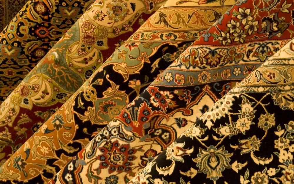 Tepisne raznobojne tkanine