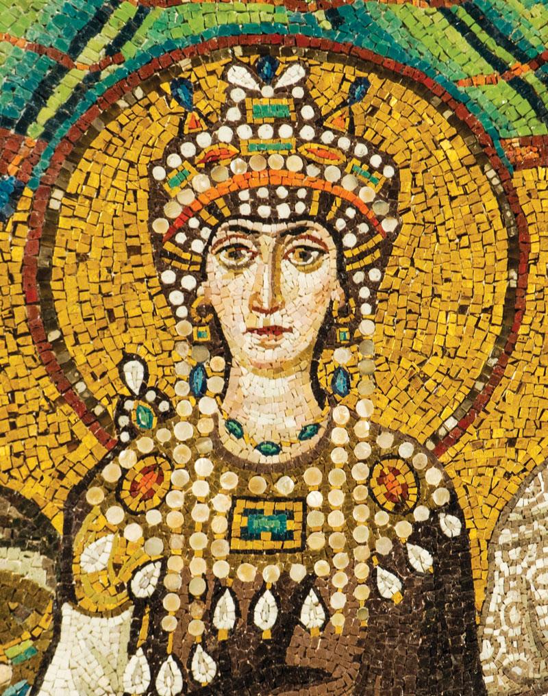 Theodora Mosaic - Basilica San Vitale (Ravenna)