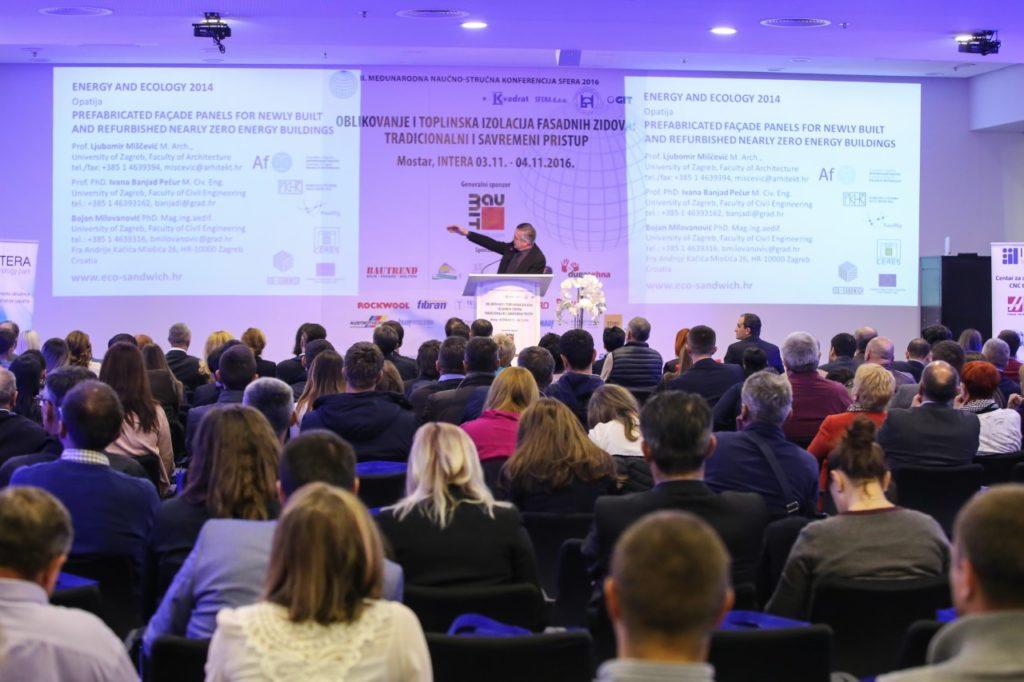 Konferencija se bavi se osnovnim materijalom za izradu objekata.