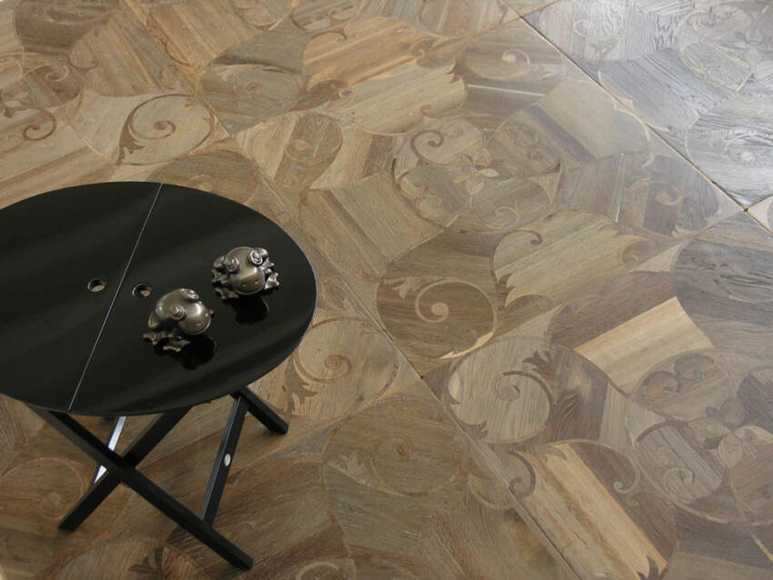 Drvene intarzije na podovima