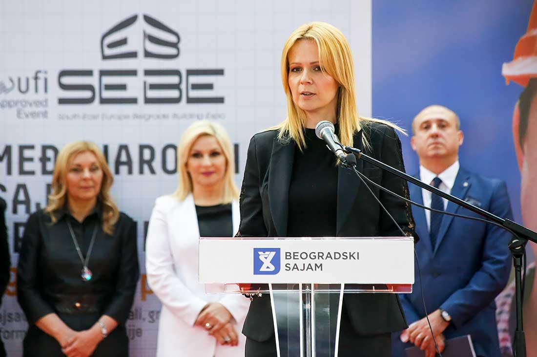 Prisutne je pozdravila i generalna direktorka Sajma, Danka Selić