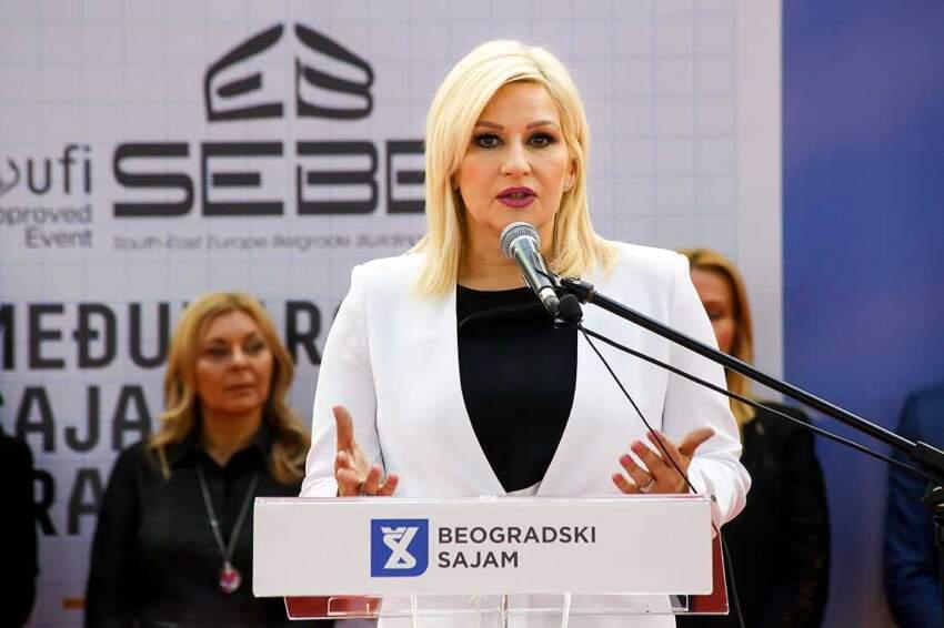 43. Sajam građevinarstva otvorila je resorna ministarka Zorana Mihajlović