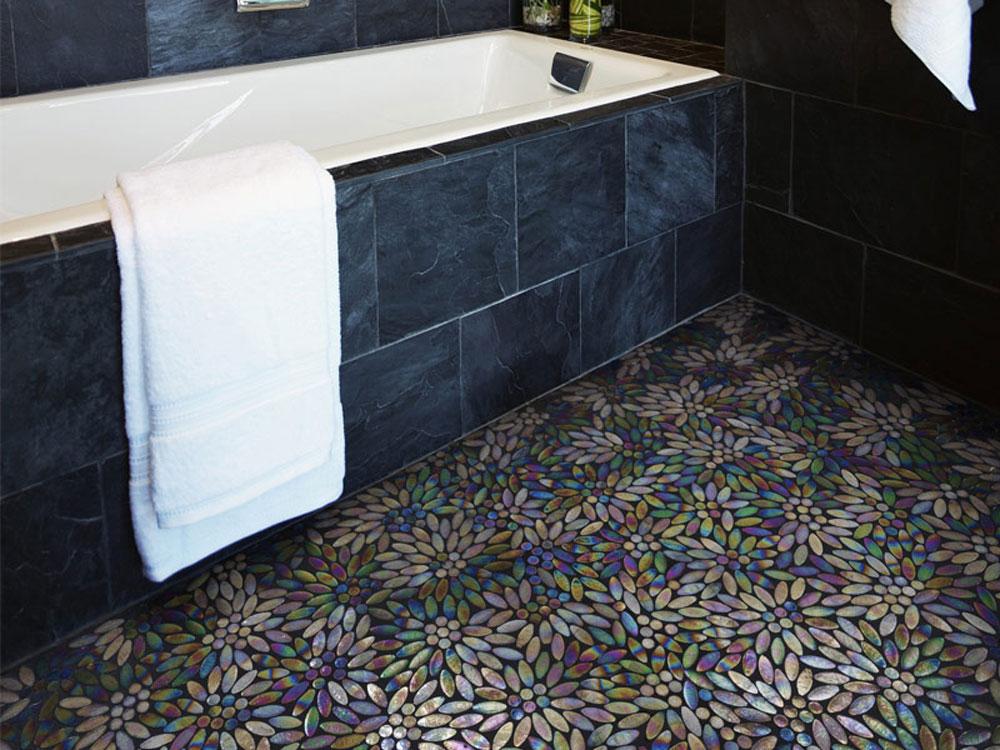 Podni mozaik u kupatilu