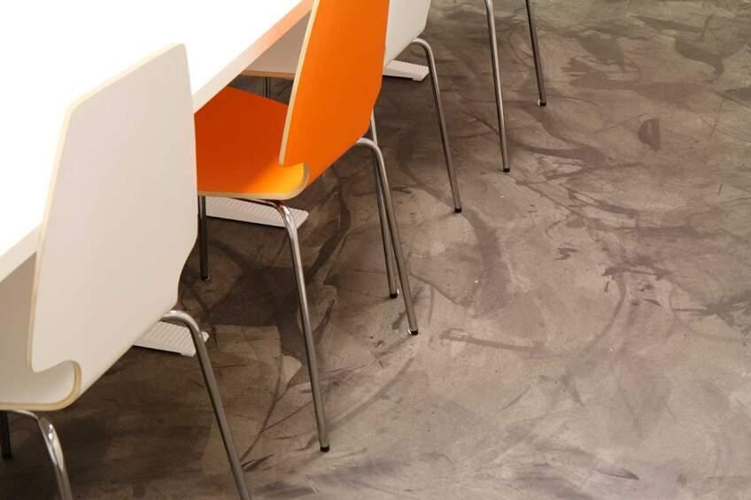 Tikkurila katalog epoksi podova, Concrete conference room