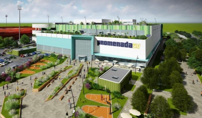 Izgradnja novog tržnog centra u Novom Sadu počinje za dve nedelje