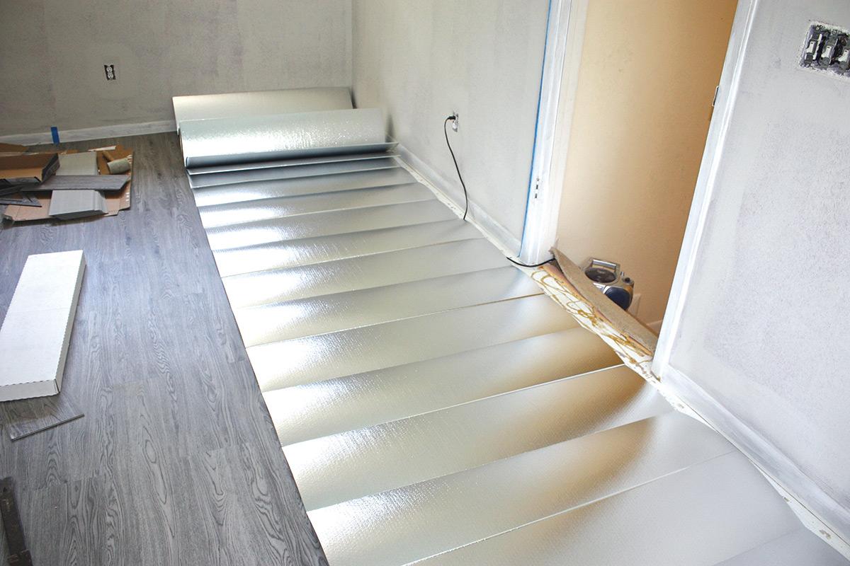 Kada se zvuko-izolacija ugrađuje u postojeći pod