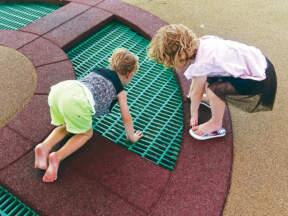 Gumene podne obloge za dečija igrališta