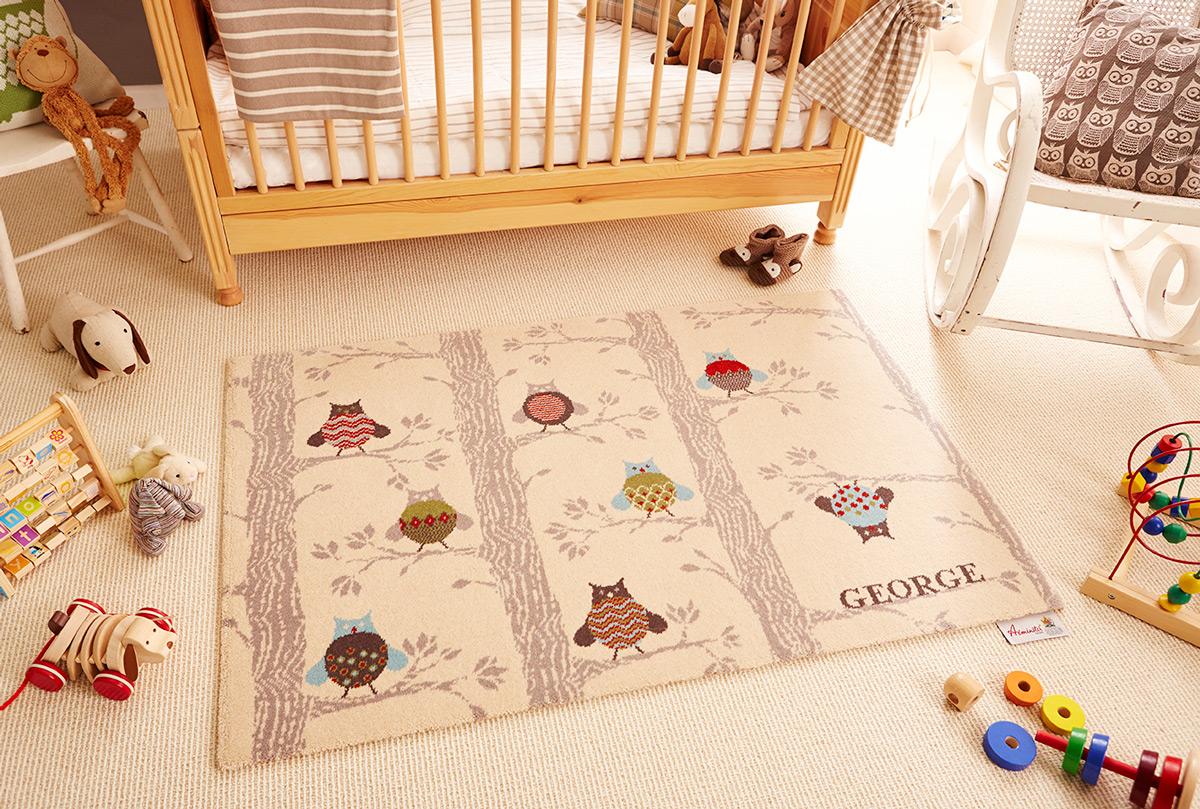Izbor tepiha za dečiju sobu