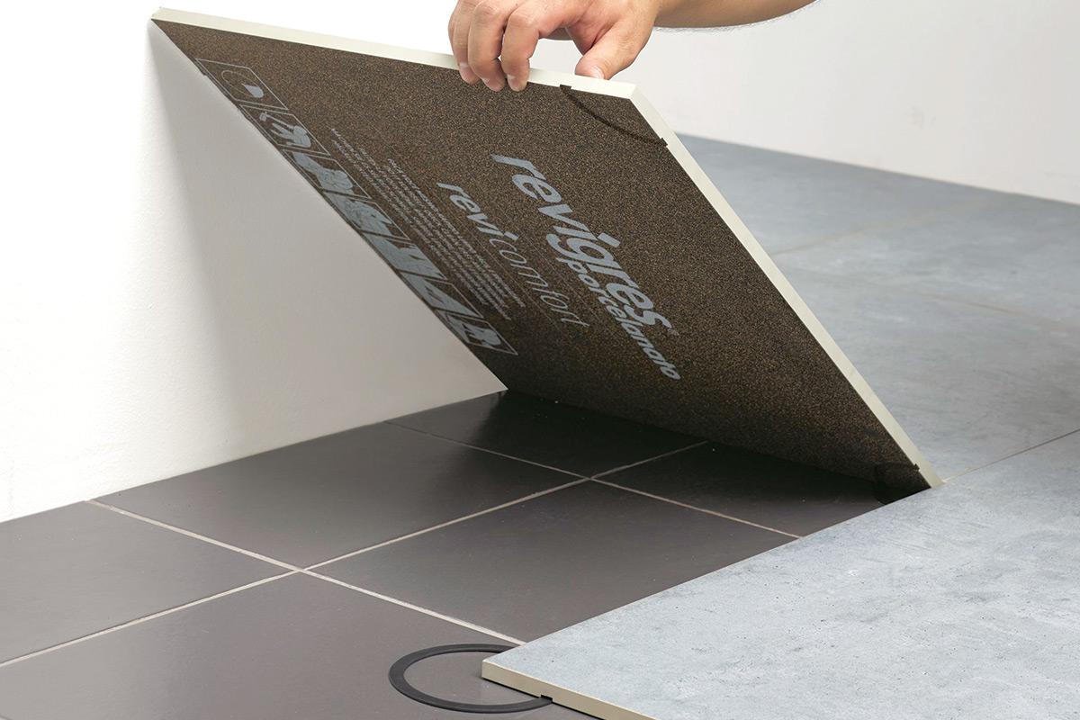 Zvučna izolacija se ugrađuje paralelno sa ugradnjom poda