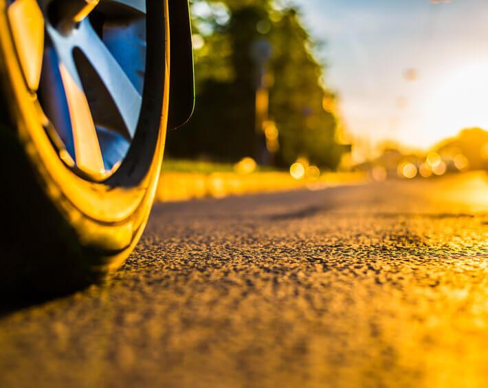 Letnje gume su izrađene od mešavine koja se odlično ponaša pri visokim temperaturama