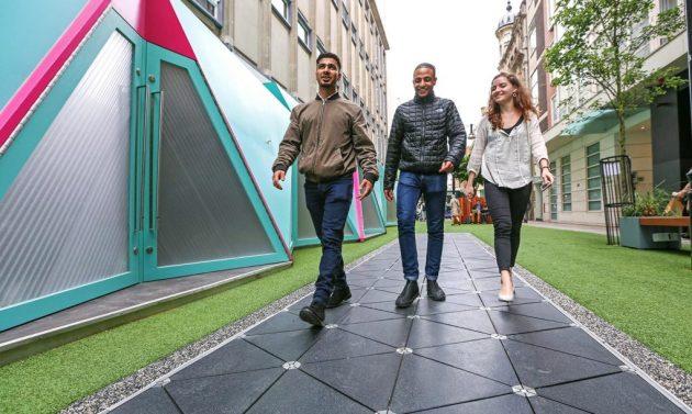 Primena ove tehnologije u šoping centrima ili u celim pešačkim kvartovima mogla bi da donese gradu značajne energetske uštede