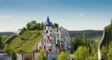 Friedensreich Hundertwasser - Hotel Therme Rogner Bad Blumau Kunsthaus