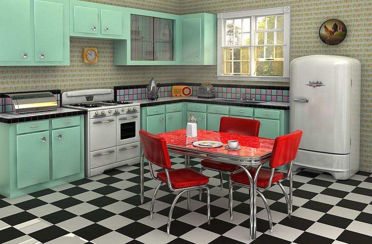 Linoleum u kuhinjama