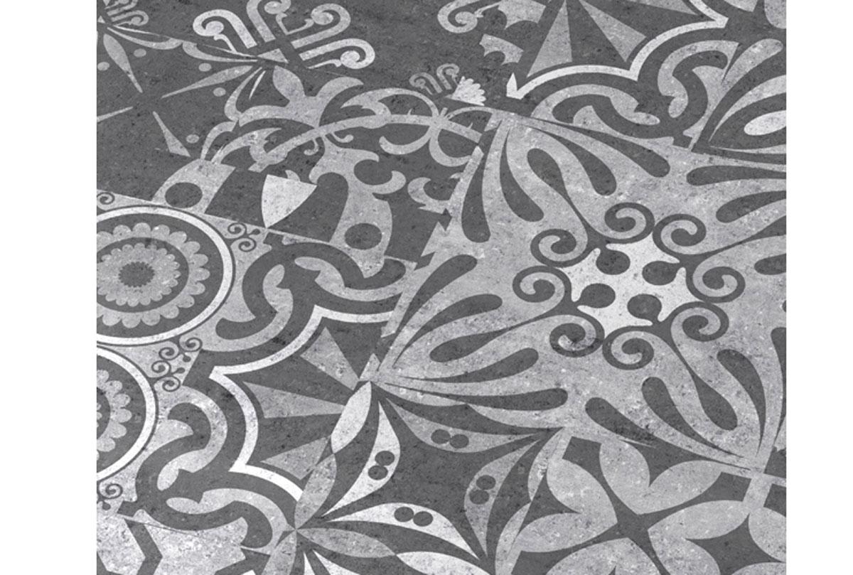 Tamno-sivi drveni izgled laminatnog poda