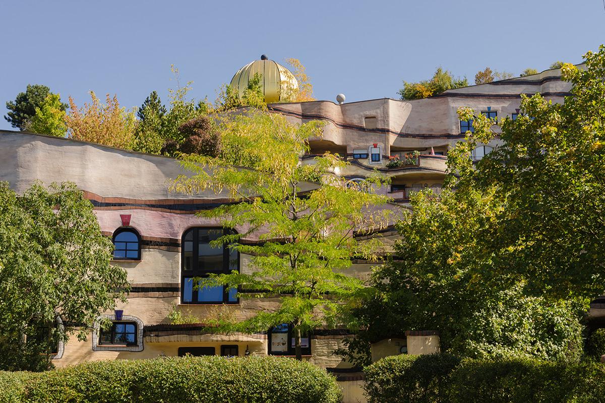 Wildspiral Nemačka Hundertwasse, površina 6.000 m2