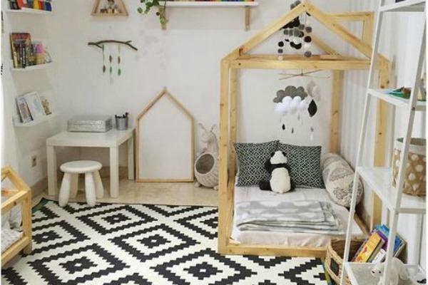 Crno-beli mozaik