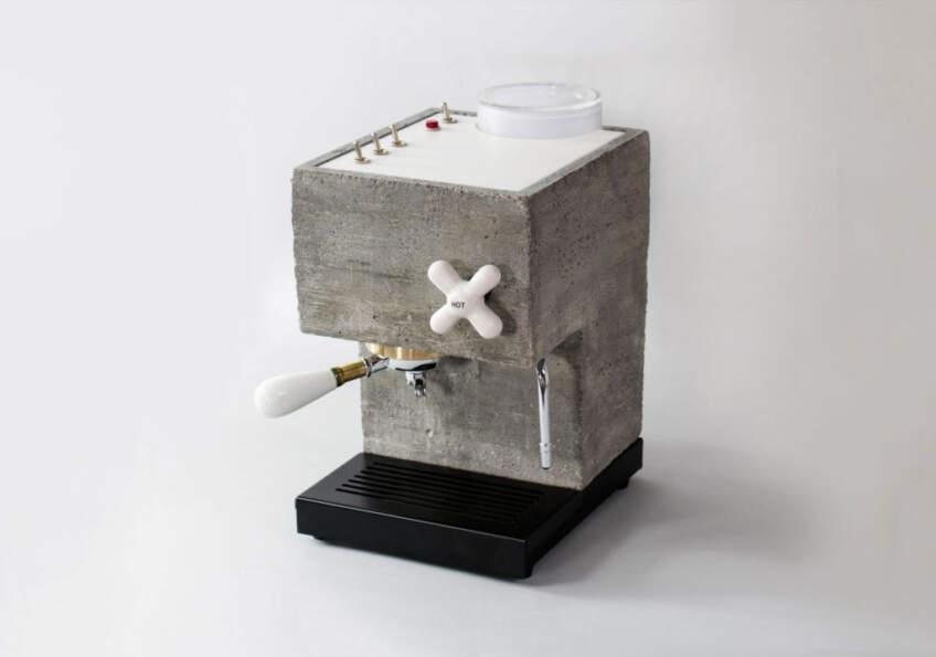 AnZa kafe aparat od betona