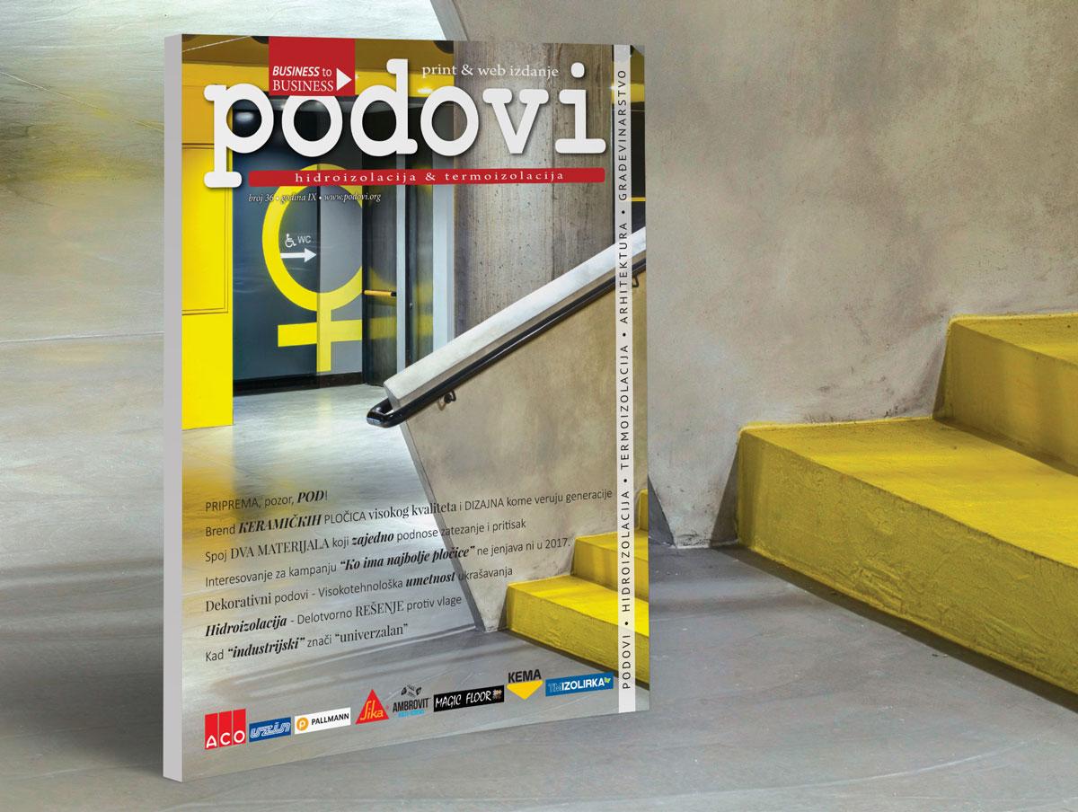 Časopis PODOVI, avgust 2017 broj 36
