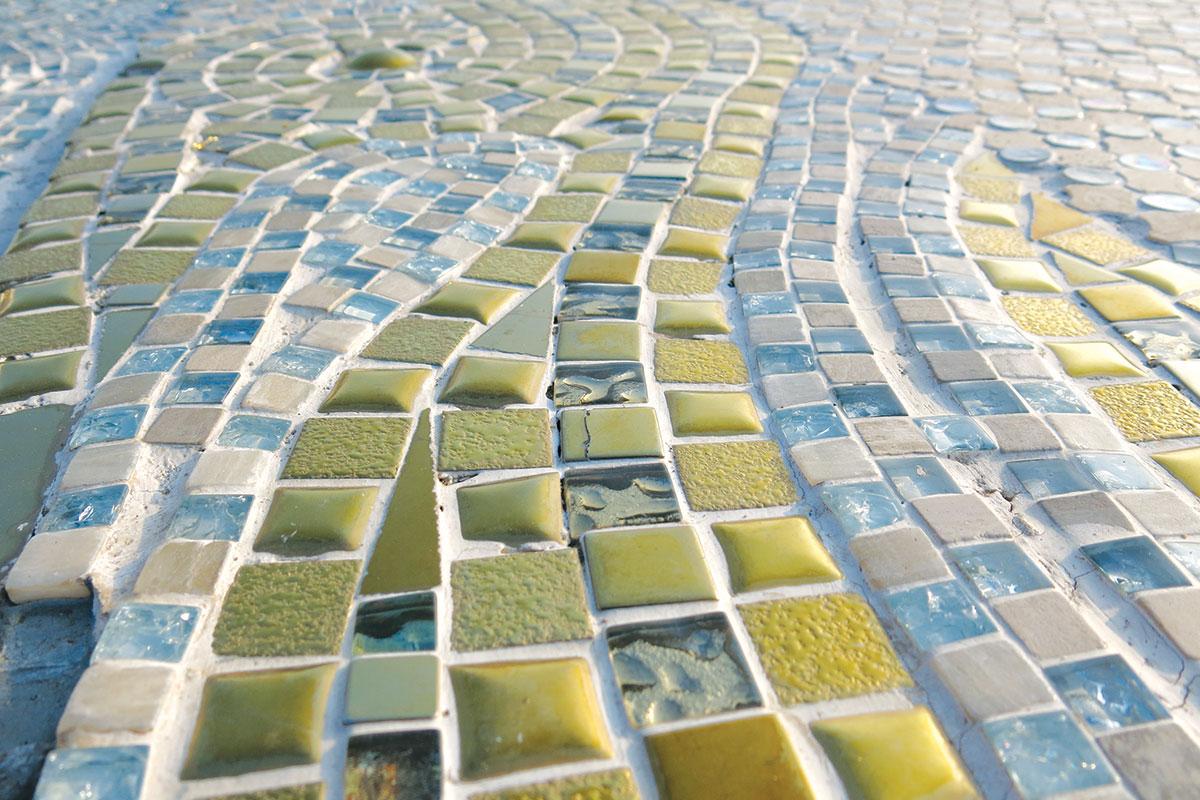 Dekorativni podovi mozaik pločice