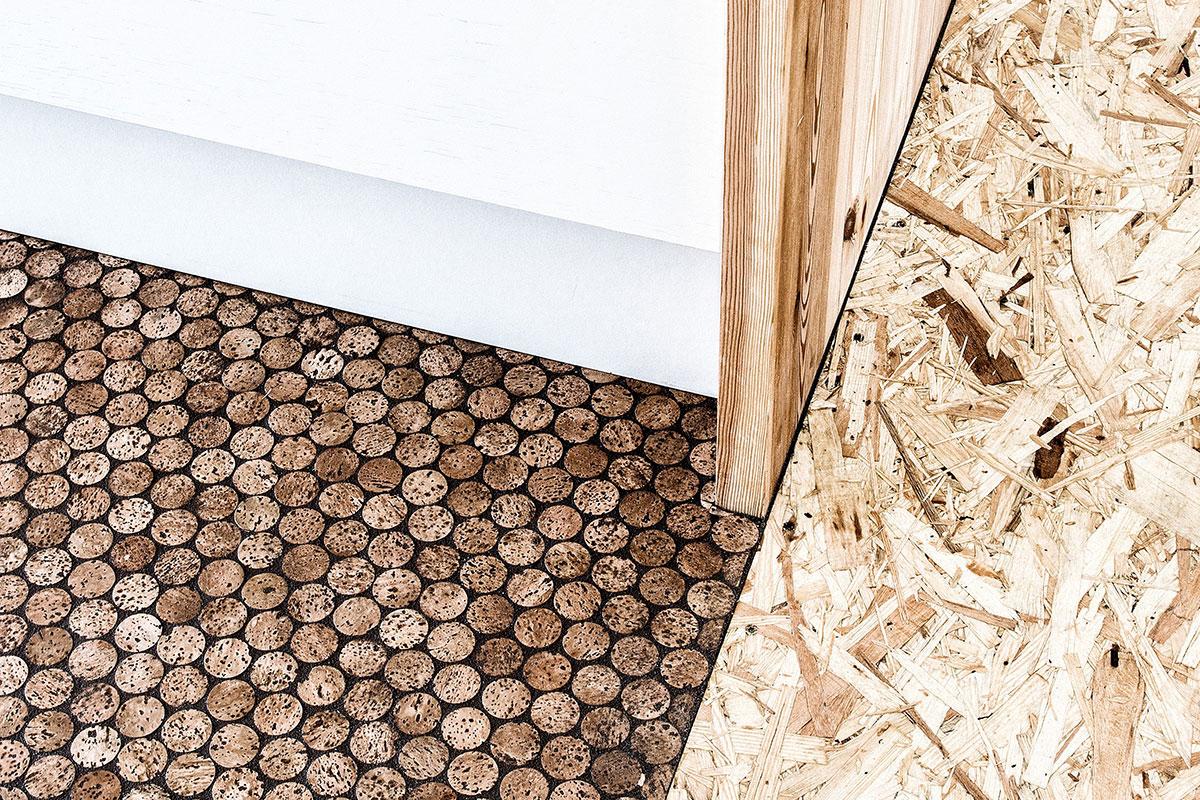 Ekološki podovi od plutanih čepova
