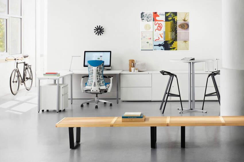 Kancelarijska stolica koja brine o zdravlju